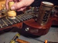 Aplicador Fast-fret para cuerdas de guitarra