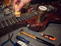 Limpiador y lubricante Fast-fret para cuerdas de guitarra