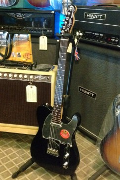 Squier Telecaster Black and Chrome