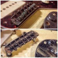 Puente Fender Jazzmaster - Antes y después