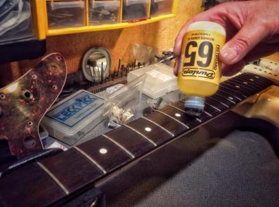 Lemon Oil Formula 65 de Dunlop