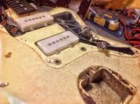 Pastillas y conexionado Fender Jazzmaster