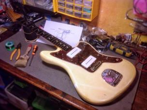 Fender Jazzmaster restaurada