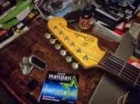 Pala Fender Jazzmaster reissue 62