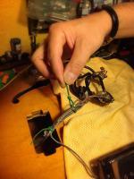 Recogiendo el cableado Gibson 175