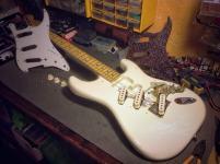 Stratocaster sin golpeador