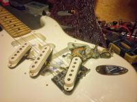 Pastillas single coils Fender Stratocaster