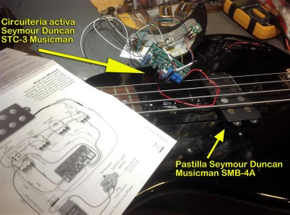 Esquema Seymour Duncan STC-3
