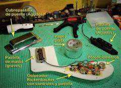 Golpeador Rickenbacker 4003 Jetglo
