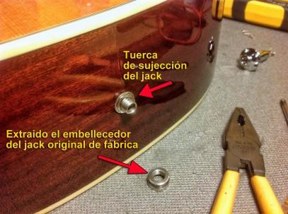 Jack original bajo acústico Fender