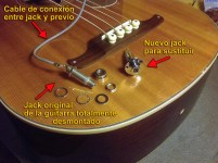 Jack bajo acústico Fender