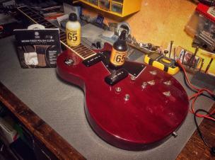 Limpiadores de guitarra